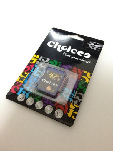 choicee SDXC 64GB Class10